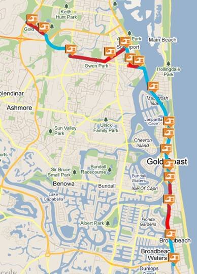 Marubeni Participates in Light Rail project in Gold Coast City